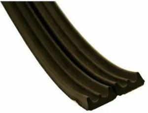 Резиновый уплотнитель для окон и дверей самоклеющийся