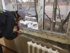 Как перепенить окно пластиковое