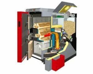 Как выбрать и использовать для дома комбинированные котлы отопления Дрова-Электричество