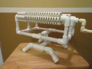 Поделки из труб: выбор материала и монтаж