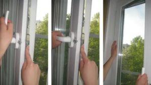Заклинило окно в режиме проветривания