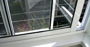 Москитные сетки на алюминиевые раздвижные окна балкона