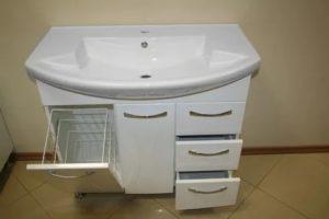 Раковина с тумбой в ванную комнату: выбираем лучшее