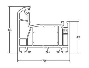 Размеры профиля ПВХ для пластиковых окон