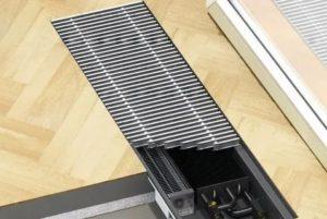Напольные конвекторы отопления – тепло, которое всегда с вами