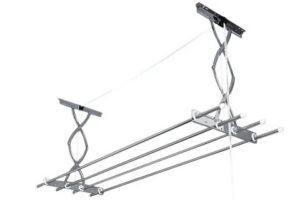 Раздвижная вешалка для белья на балкон