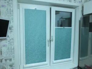 Рулонные шторы снизу вверх на пластиковые окна