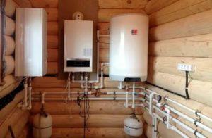 Газовое отопление в деревянном доме: монтаж и эксплуатация