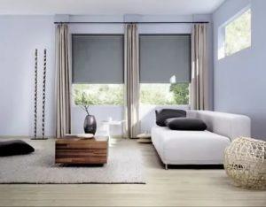 Какой длины должны быть шторы в гостиной?