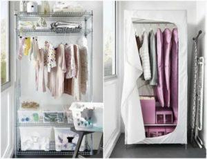 Можно ли хранить одежду на балконе зимой