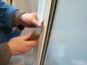 Как снять стеклопакет с пластикового окна