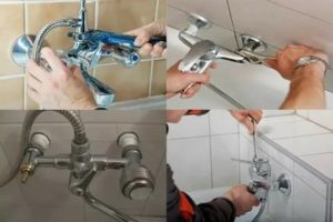 Как поменять смеситель в ванной своими руками. Рекомендации профессионала