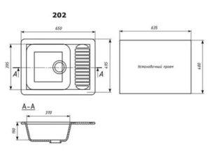 Как подобрать оптимальные размеры мойки для кухни