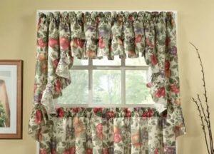 Занавески для деревенского дома с маленькими окнами