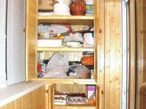 Можно ли хранить вещи на балконе зимой