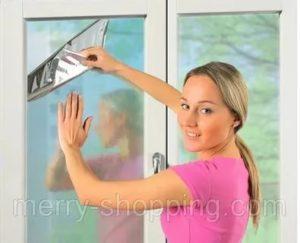Как затемнить окна от солнца своими руками