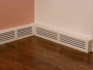 Как спрятать трубы отопления: закладка в стену и пол, короба и экраны