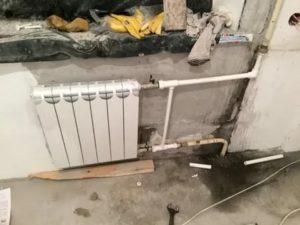 Как перекрыть батарею отопления и заменить ее на новую
