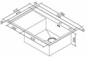 Какие габариты раковины для кухни и ванной комнаты по высоте, ширине и глубине можно считать оптимальными