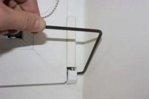 Шестигранник для регулировки пластиковых окон