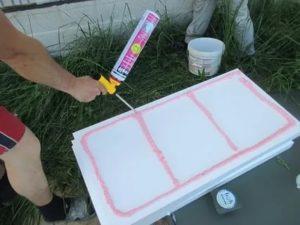 Чем можно приклеить пенопласт к бетону