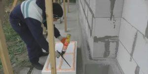 Чем приклеить пеноплекс к бетонной стене