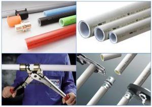 Как используют полимерные трубы для отопления и их виды