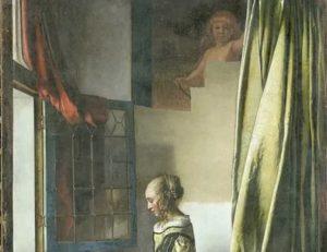 Вермеер девушка читающая письмо у открытого окна