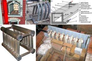 Печь с котлом водяного отопления – особенности устройства