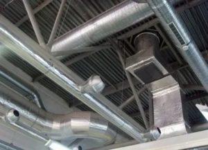 Вентиляция производственных помещений: задачи, разновидности и особенности монтажа
