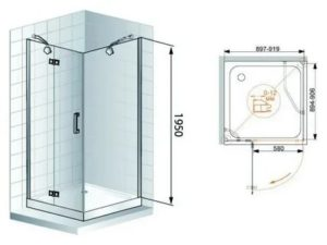 Душевые уголки для ванной комнаты: конструктивные особенности и размеры сооружений