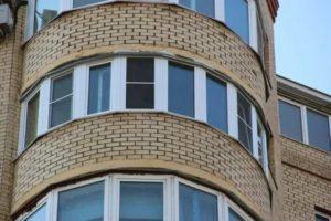 Остекление полукруглых балконов