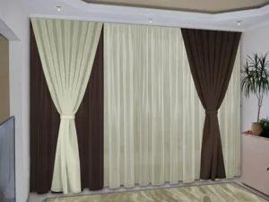 Как красиво оформить окно в зале