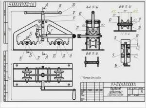 Из чего и как сделать станок для гибки профильной трубы: основные узлы и технология сборки