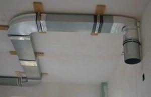 Труба для вытяжки и некоторые особенности ее монтажа