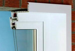 Как снять наличники с пластиковых окон