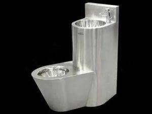 Металлический унитаз – сантехнический прибор для общественных мест