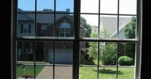 Зеркальная тонировка на окна квартиры