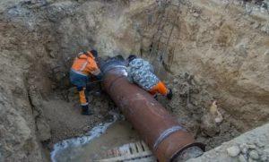 Ремонт водопровода: способы устранения аварий