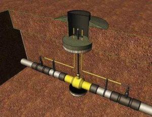 Какой нужен кран ПЭ для подземной установки