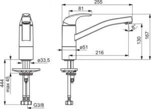 Длина излива смесителя: выбор и отличия изделий