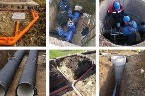 Наружные сети водопровода и канализации: нормативные требования и применяемые материалы