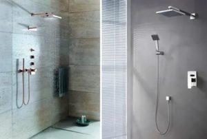 Встроенный душ – некоторые важные особенности данного вида конструкций