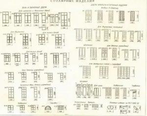 СНИП окна и двери жилых зданий