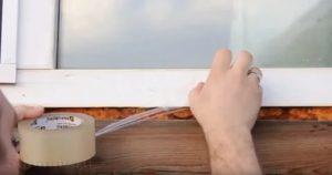 Как быстро снять пленку с подоконника
