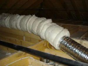Зачем и как выполняется утепление вентиляционных труб