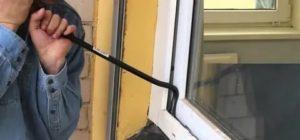 Можно ли открыть пластиковое окно с улицы