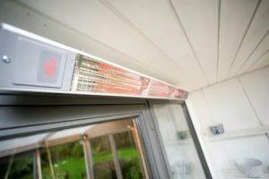 Обогрев балкона инфракрасным обогревателем