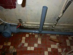 Правильно обустроенная канализация в ванной