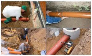 Монтаж канализационных труб своими руками – раскрываем все секреты